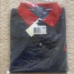 Polo Ralph Lauren Polo shirt - Navy w/Red collar